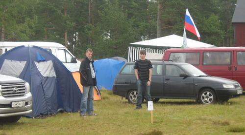Российский угол caravan-camp