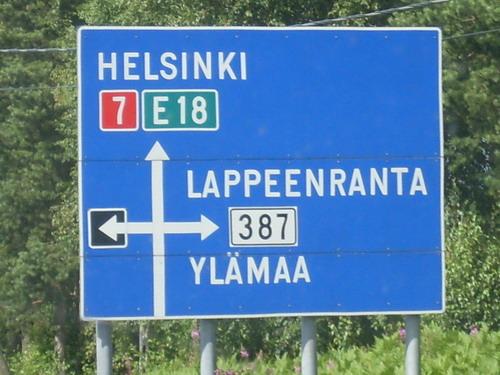 Указатели на Via Karelia