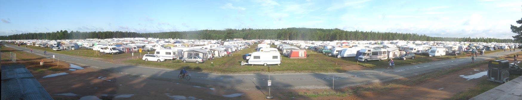 Caravan-camp