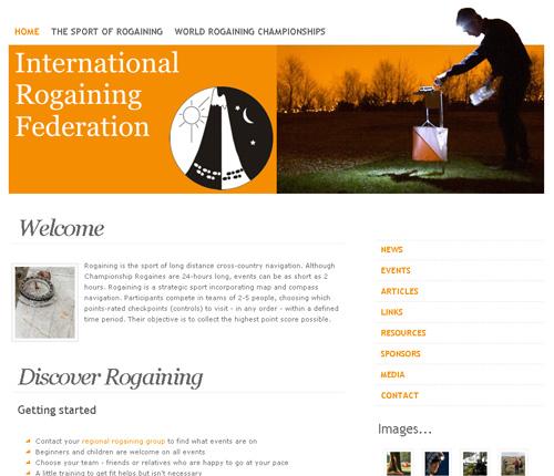 Сайт международной федерации рогейна