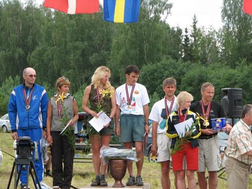 Елена и Николай Бондари - победители IV чемпионата Европы по рогейну