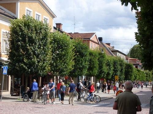 Городок Eksjo