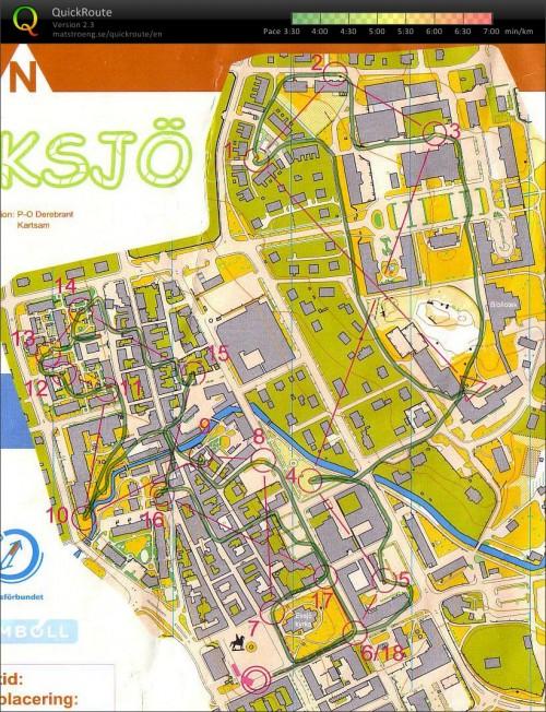 Карта мужского спринта