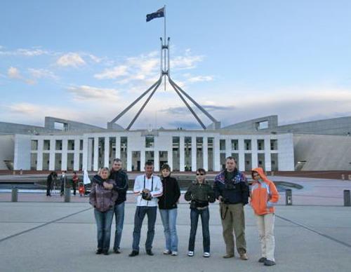 Наши в Австралии