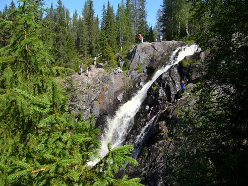 Водопад Hepoköngas