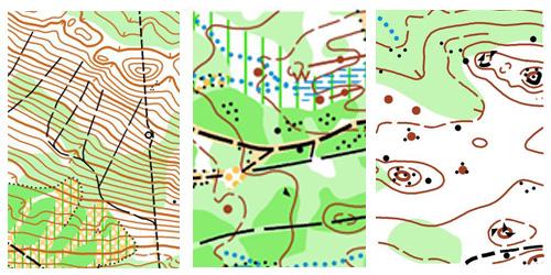 Образцы карт